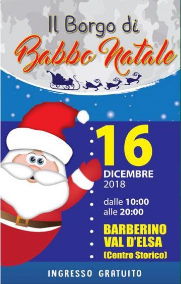 Benvenuti Nel Sito Di Babbo Natale.Il Borgo Di Babbo Natale Comune Di Barberino Val D Elsa